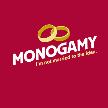 monogamy not amrried to the idea