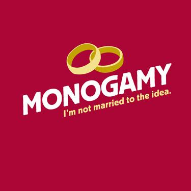 monogamy not amrried to the idea